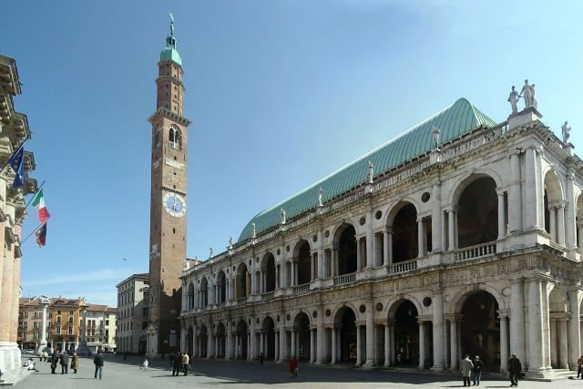 Vicenza art city basilica Andrea Palladio work Veneto region to visit during a guided walking tour