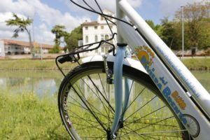 Brenta riviera cycle routes, day excursion to visit venetian villas and the mainland of Venice along a bike path