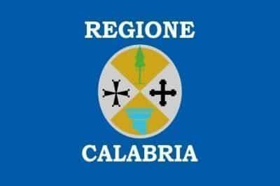 Flag Calabria region Italy