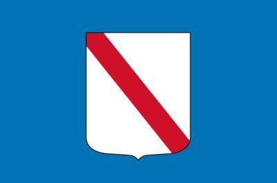 Flag Campania region Italy