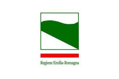 Flag Emilia Romagna region Italy