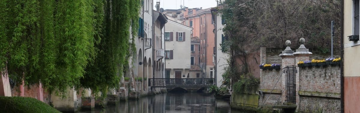 Treviso medieval walled art city Veneto region to visit during a guided walking tour
