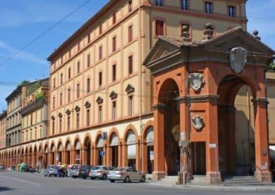 Bonaccorsi arch portico sanctuary San Luca Bologna