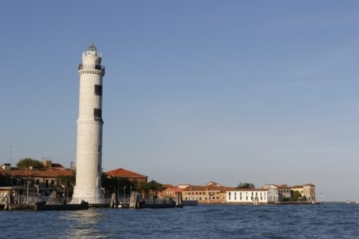 Lighthouse Murano island day excursion, to visit with a guided small group. Tour from Altino archaeological museum, Torcello and Burano. With Sightseeing in Italy