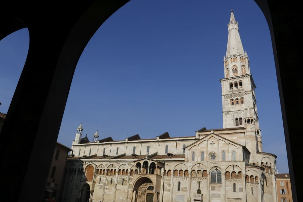 Modena Duomo Unesco world heritage Emilia Romagna region, Italy