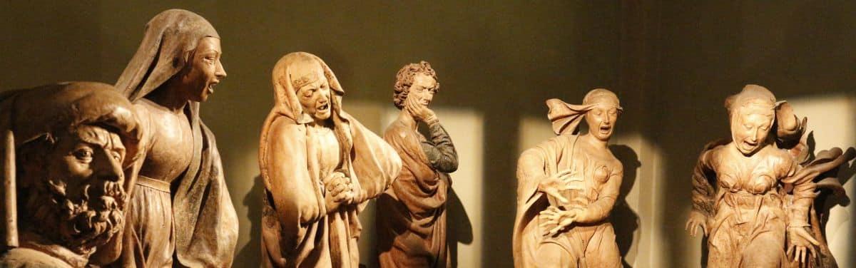 Bologna, Il Compianto sul Cristo morto chiesa Santa Maria della Vita, Niccolò dell'Arca.