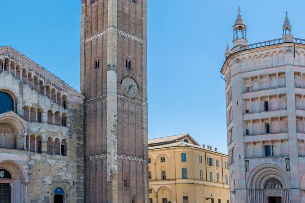 Parme duché des Farnese Cathédrale et Baptistère Émilie-Romagne, Italie