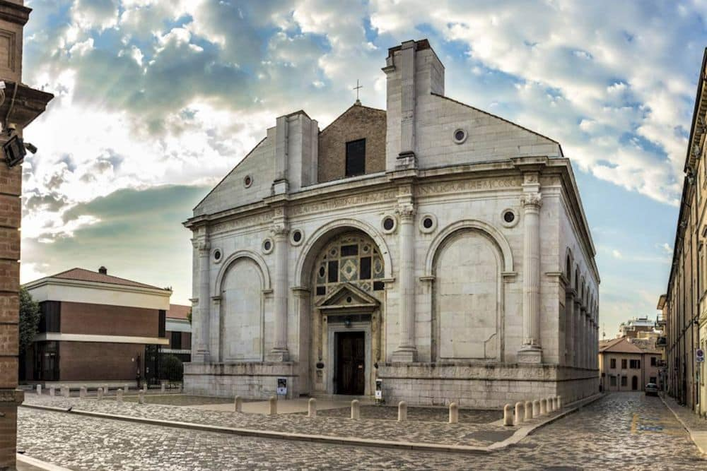 Rimini Malatesta Temple guided day excursion with professional guide, Emilia Romagna