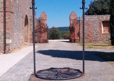 Le monastère de Béatrice I d'Este - le puits