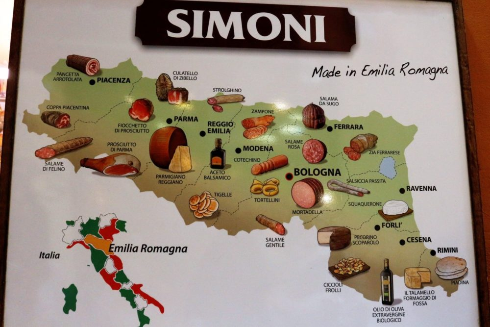 wine food valley emilia romagna region, culinary traditions in Italy