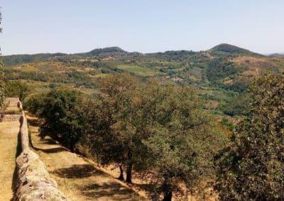 Le monastère de Béatrice I d'Este - le paysage