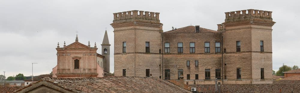 Mesola castle Delizia Este duchy Emilia Romagna, from the feudalism of Matilda of Canossa to the papal state. Domain of the lords of Ferrara