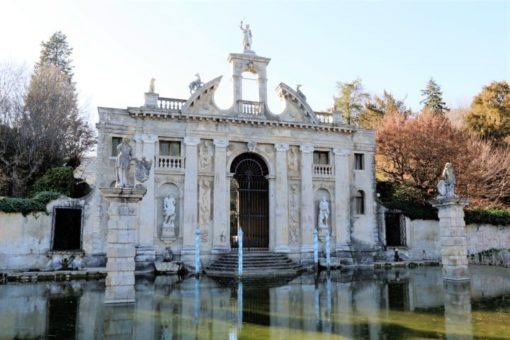 Garden Villa Barbarigo south Euganean hills, province of Padua in the Veneto region, to discover during a day excursion guided tour, Italy