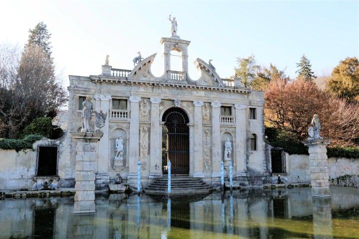 Jardin de Villa Barbarigo, sud des Collines Euganéennes