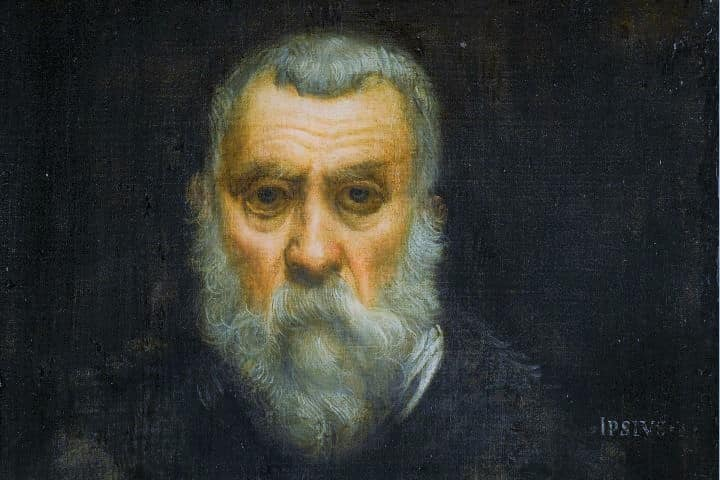 Tintoretto, Jacopo Comin, Venice 1518 – May 31, 1594. A Venetian painter and a notable exponent of the Renaissance school.