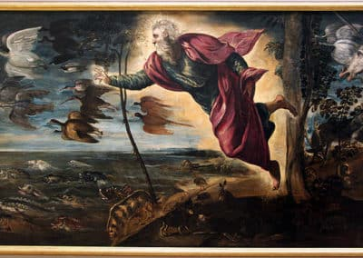 Creation of the Animals by Tintoretto, Gallerie dell'Accademia, Venice