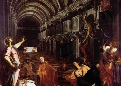 Finding of the body of St Mark, Tintoretto, Pinacoteca di Brera, Milan