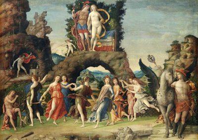 Parnassus, Louvre Museum, Paris