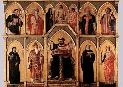 St Lucas altarpiece, Pinacoteca di Brera
