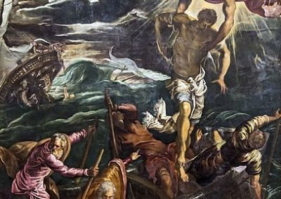 St Mark saves a Sarracen by Tintoretto, Gallerie dell'Accademia, Venice