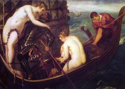 The Deliverance of Arsinoe, Tintoretto, Gemäldegalerie Alte Meister in Dresden