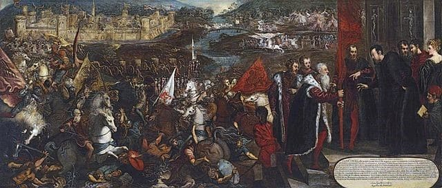 The Siege of Asola, Tintoretto, National Museum, Poznan