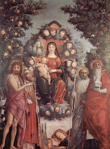 Trivulzio Madonna, Sforza Castle Pinacoteca, Milan