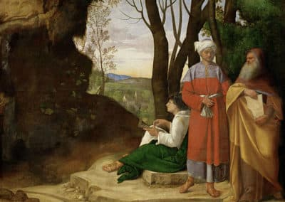 The Three Philosophers, Giorgione