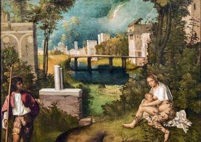The Tempest, Giorgione, artist of the Italian Renaissance