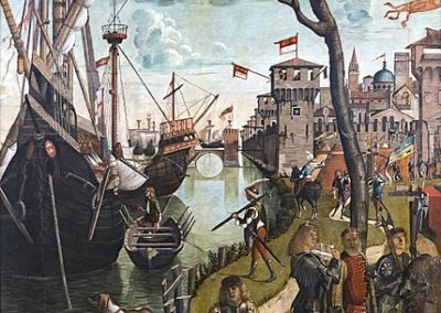 The Arrival of the Pilgrims in Cologne