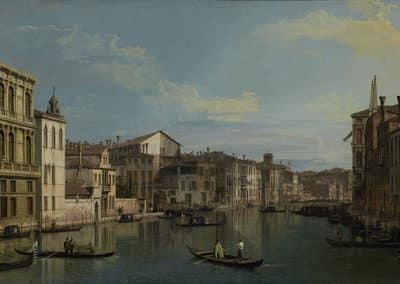 Grand Canal from Palazzo Flangini, J Paul Getty Museum