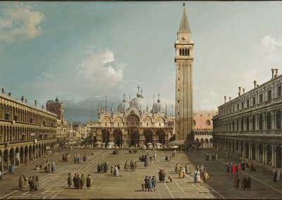 Piazza San Marco Venice, Harvard Art Museums, Cambridge