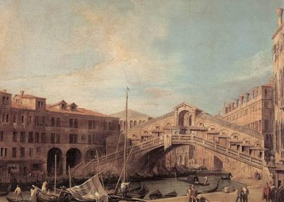 Grand Canal, The Rialto Bridge from the South