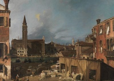 The Stonemason's Yard, National Gallery, London