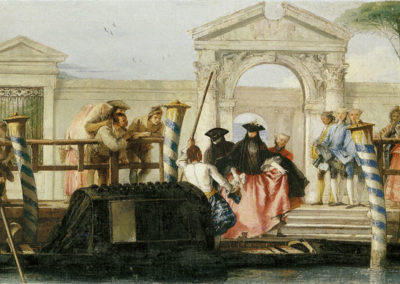 Departure of the gondola, Museo del Prado, Madrid