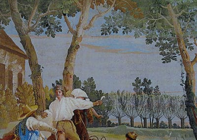 Peasants at Rest, 1757, Villa Valmarana Ai Nani, Vicenza