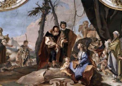 Rachel cachant les idoles, palais des Patriarches, Udine