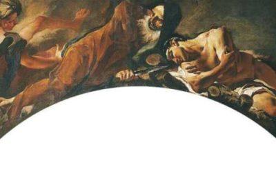 Sacrifice of Isaac, church of Santa Maria dei Derelitti, Venice