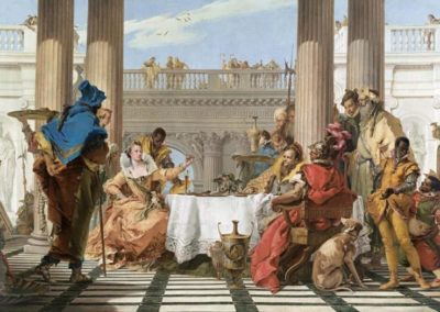The Banquet of Cleopatra, Melbourne, National Gallery