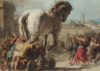 The Procession of the Trojan Horse in Troy, 1773, National Gallery, London