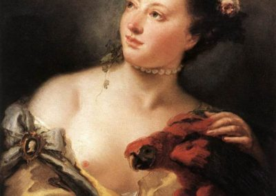 Jeune Femme au Perroquet, Oxford, Ashmolean Museum