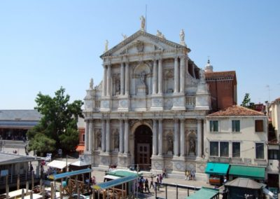 Church of the Scalzi, Baldassarre Longhena, Venice
