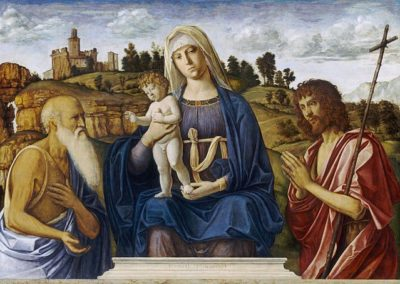Madonna and Child with Saint Jerome and Saint John the Baptist