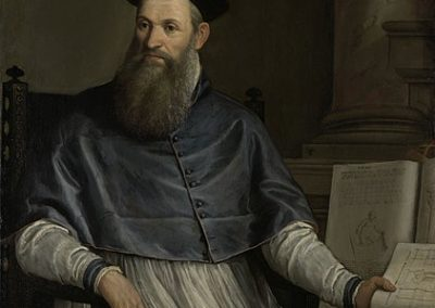 Portrait of Daniele Barbaro