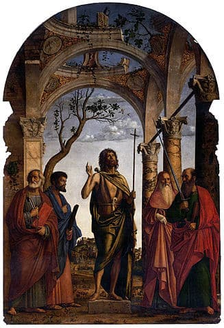 St John the Baptist with Saints