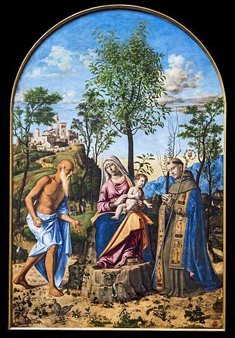 The Madonna with the Orange Tree