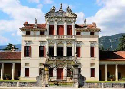 Main building Villa Angarano, Baldassarre Longhena, Bassano del Grappa