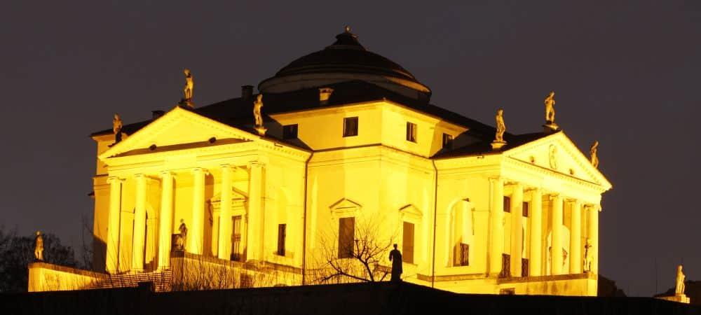 Villa La Rotonda à Vicence, œuvre de l'architecte vénitien Andrea Palladio
