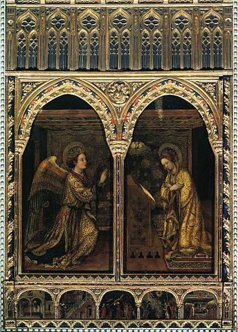 Annunciation, Sant'Alessandro church, Brescia, Italy