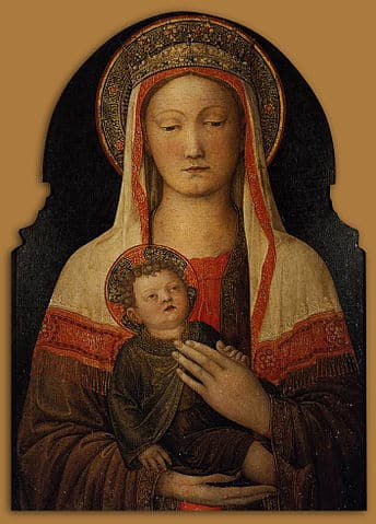 Madonna and Child, Uffizi Gallery